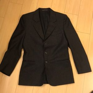 PERRY ELLIS 100% WORSTED WOOL BLAZER